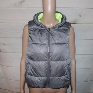 Calvin Klein Gray Water Repellent Vest